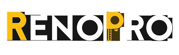Renopro white logo